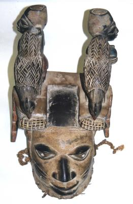 Wooden Royal Mask