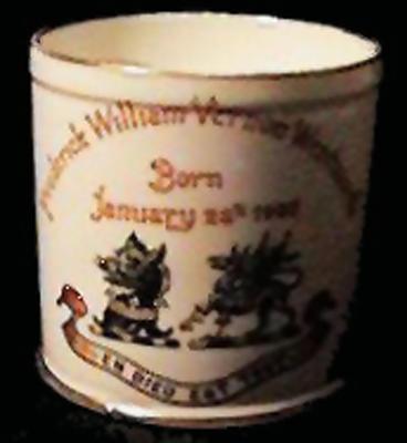 Family Christening Mug