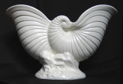 Crown Lynn Shell Vase