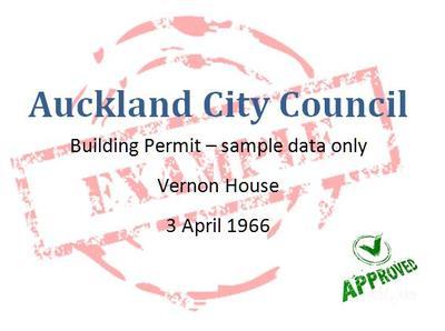 Building permit, Auckland City Council