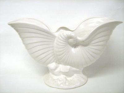 Crown Lynn Nautilus Vase